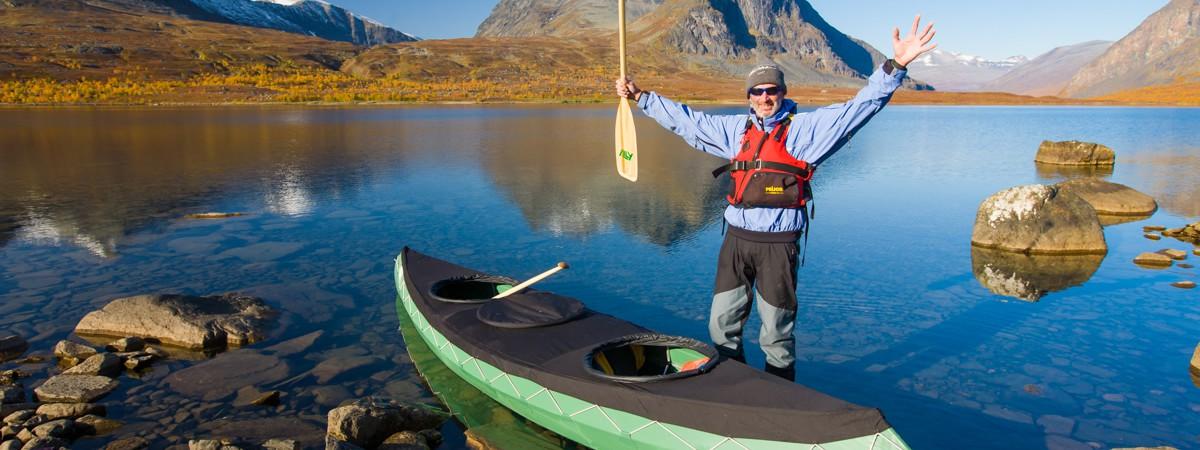 Kano-avontuur in Zweden
